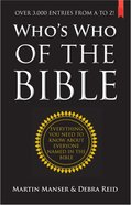 Who's Who of the Bible Paperback