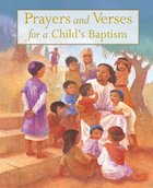 Prayers and Verses For a Child's Baptism Hardback