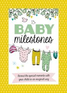 Baby Milestone Cards: Record the Special Moments With You Child in An Original Way Hardback