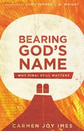 Bearing God's Name eBook