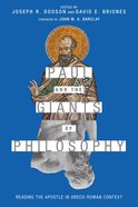 Paul and the Giants of Philosophy eBook
