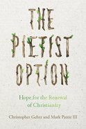 The Pietist Option eBook
