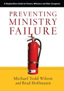 Preventing Ministry Failure eBook