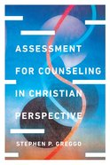 Assessment For Counseling in Christian Perspective eBook