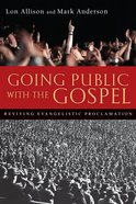Going Public With the Gospel eBook