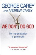 We Don't Do God eBook