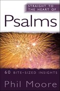 Psalms (Straight To The Heart Of Series) eBook
