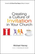 Creating a Culture of Invitation Paperback