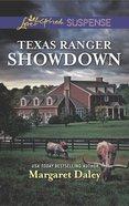 Texas Ranger Showdown (Lone Star Justice) (Love Inspired Suspense Series)