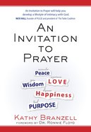 An Invitation to Prayer eBook