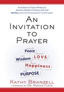 An Invitation to Prayer eBook