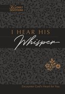 I Hear His Whisper (Faux Leather Gift Edition) eBook