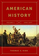 American History, Volume 1 eBook