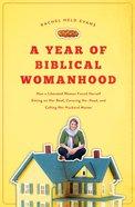 A Year of Biblical Womanhood (Unabridged, Mp3) CD