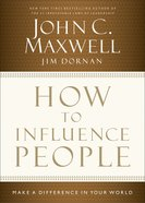 How to Influence People (1 Mp3) CD