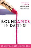 Boundaries in Dating (Unabridged, 7 Cds) CD