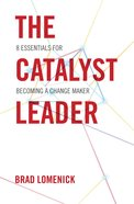 The Catalyst Leader (Unabridged, Mp3) CD