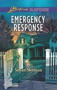 Emergency Response (First Responders #04) (Love Inspired Suspense Series) eBook
