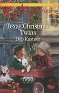 Texas Christmas Twins (Christmas Twins) (Love Inspired Series) eBook