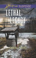 Lethal Legacy (Love Inspired Suspense Series) eBook