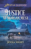 Justice At Morgan Mesa (Love Inspired Suspense Series) eBook
