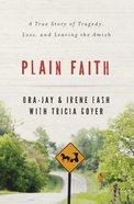 Plain Faith (Unabridged, 8 Cds) CD