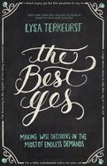 The Best Yes (Unabridged 5 Cds) CD