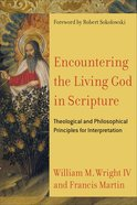 Encountering the Living God in Scripture eBook