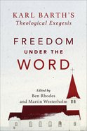 Freedom Under the Word eBook