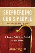 Shepherding God's People eBook