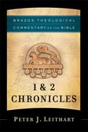 1 & 2 Chronicles (Brazos Theological Commentary on the Bible) (Brazos Theological Commentary On The Bible Series) eBook