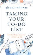 Taming Your To-Do List eBook
