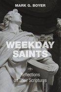 Weekday Saints eBook