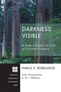 Darkness Visible (#228 in Princeton Theological Monograph Series) eBook