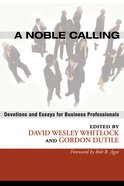 A Noble Calling eBook