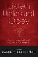 Listen, Understand, Obey eBook