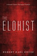 The Elohist eBook