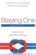 Staying One: Leader's Guide eBook