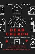 Dear Church eBook
