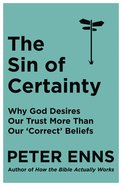The Sin of Certainty eBook