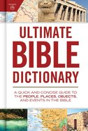Ultimate Bible Dictionary eBook