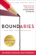 Boundaries: When to Say Yes, How to Say No to Take Control of Your Life (Unabridged, Mp3) CD
