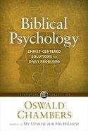 Biblical Psychology eBook