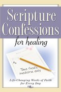 Scripture Confessions For Healing eBook