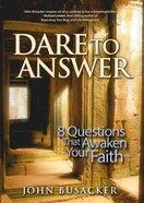 Dare to Answer eBook