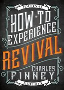 How to Experience Revival (Journal Edition) eBook