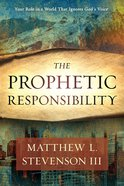 The Prophetic Responsibility eBook