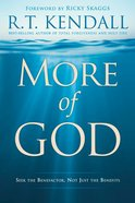 More of God eBook