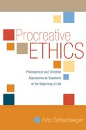 Procreative Ethics eBook
