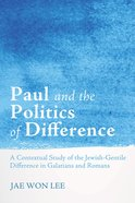 Paul and the Politics of Difference eBook